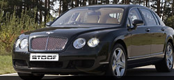 Armoured Limousine based on Bentley