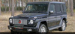 Armoured Vehicle based on Mercedes-Benz G-Model