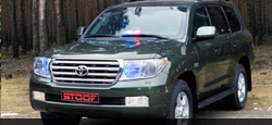 Armoured Vehicle based on Toyota Land Cruiser 200 VX