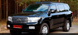 Armoured Vehicle based on Toyota Land Cruiser 200 VX VIP